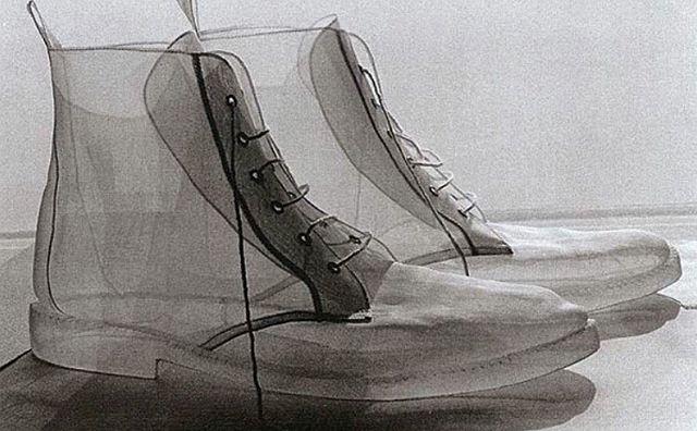Transparent. Via @mistr.cheng #shoes #boots #clear #transparent #inspo #designer #angeliquelefevre #mistercheng #kicks #kickstagram #hypebeast #shoesoftheday
