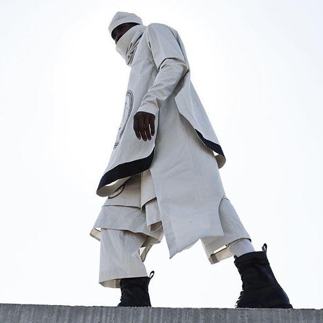 Urban Warrior. #designer #tobiasbirknielsen #urban #design #couture #avantgarde #fashion #style #swag #ootd #lookbook #photoshoot #editorial #lookoftheday #menswear #mensfashion #dope #unique #warrior via @tobiasbirknielsen