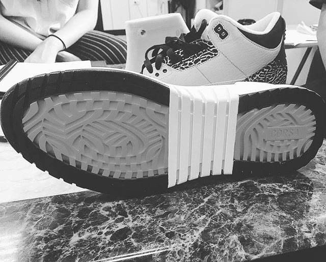 Sneak sneaker preview. Coming sooooooon #shoes #sneakerhead #sneakers #corsa #corsabrand #fashion #shoedesign #shoedesigner #lovemywork #art #design #shoegame #madeinnewyork #nyc