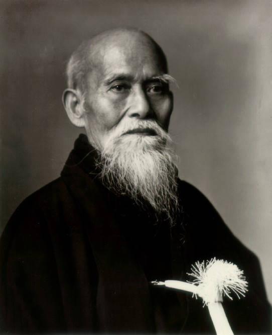 Morihei Ueshibu,  O'Sensei,  1883 - 1969