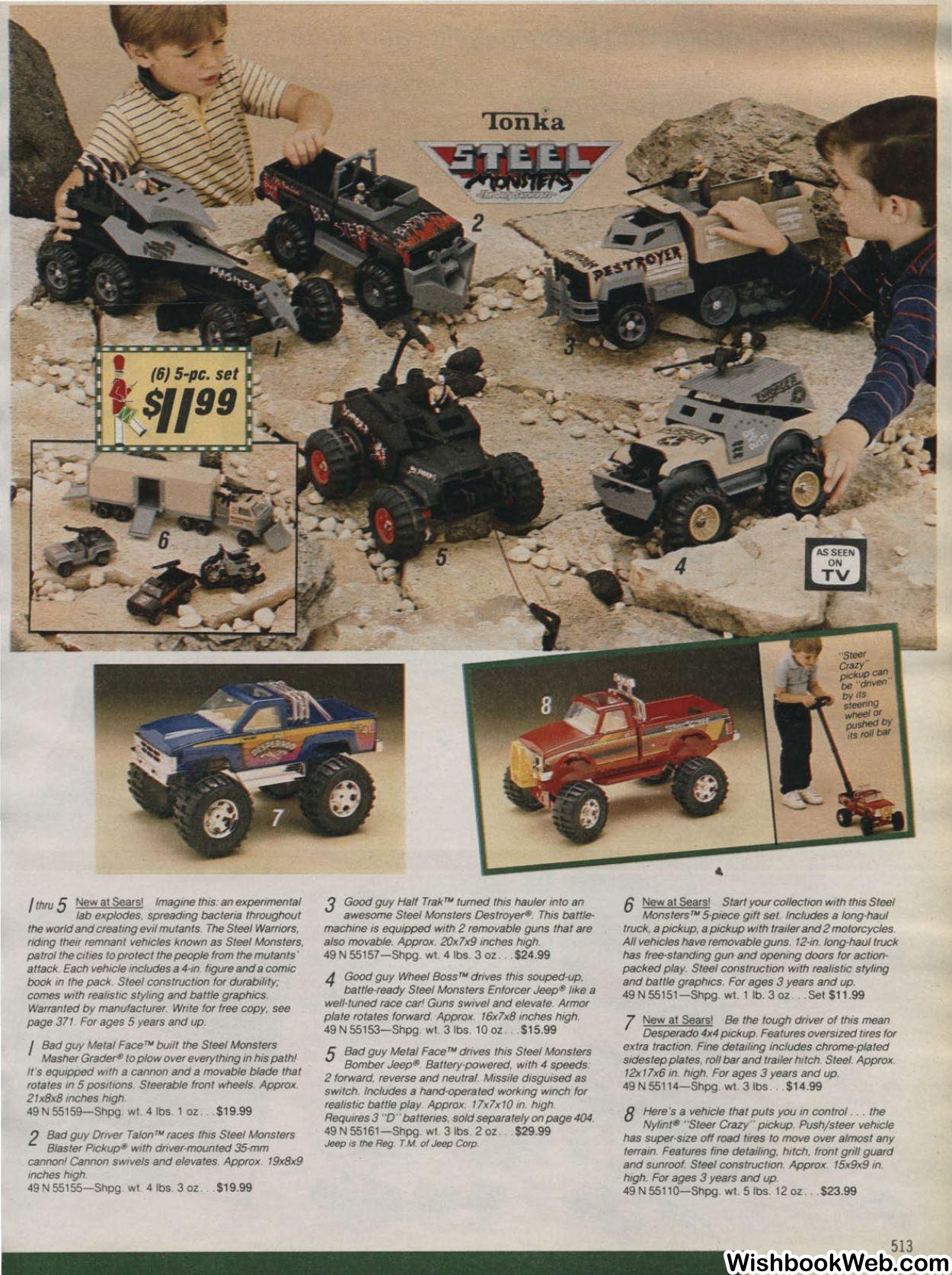 Sears Wishbook, 1986. Source:  wishbookweb.com
