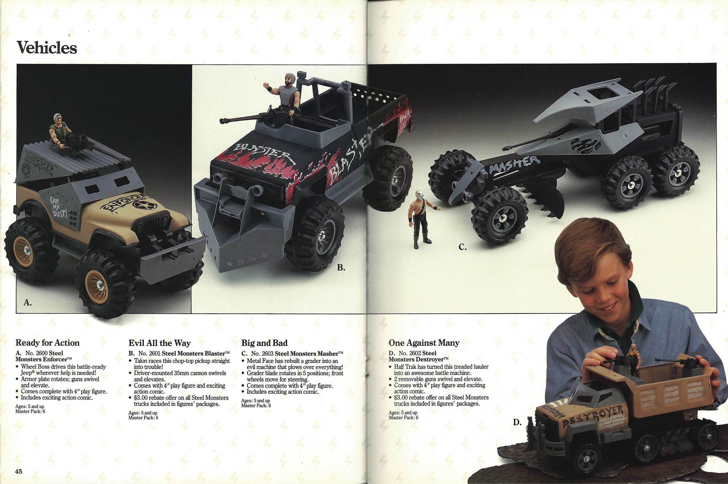 Tonka Dealer Catalog, 1987. Source:  battlegrip.com