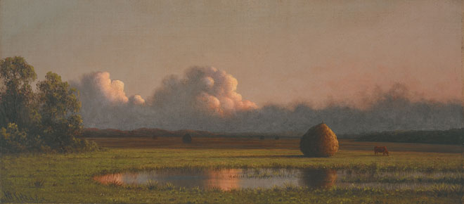 Martin Johnson Heade, Haystacks, ca. 1871-1875