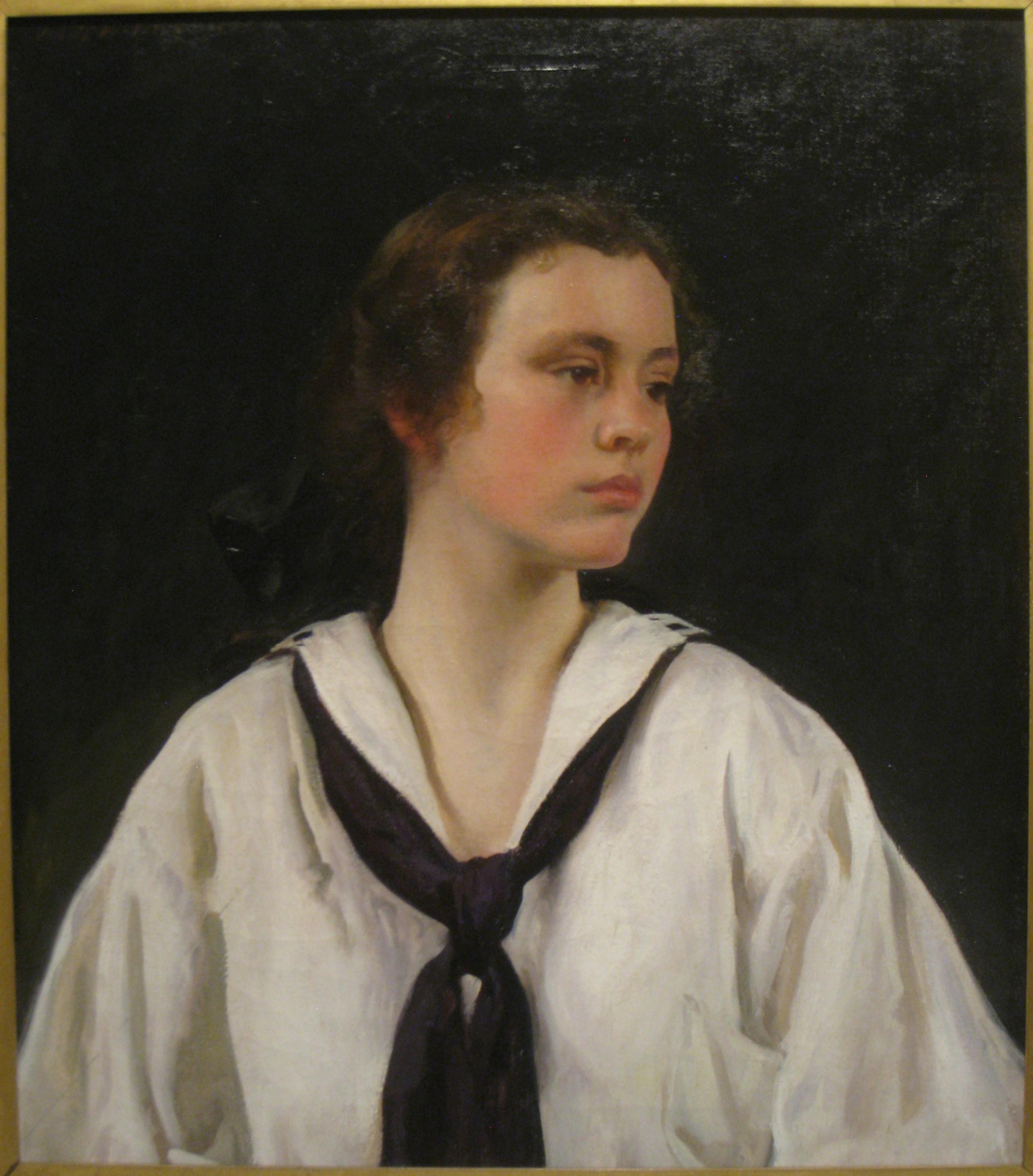 "Joseph DeCamp, ""Sally,"" 1907"