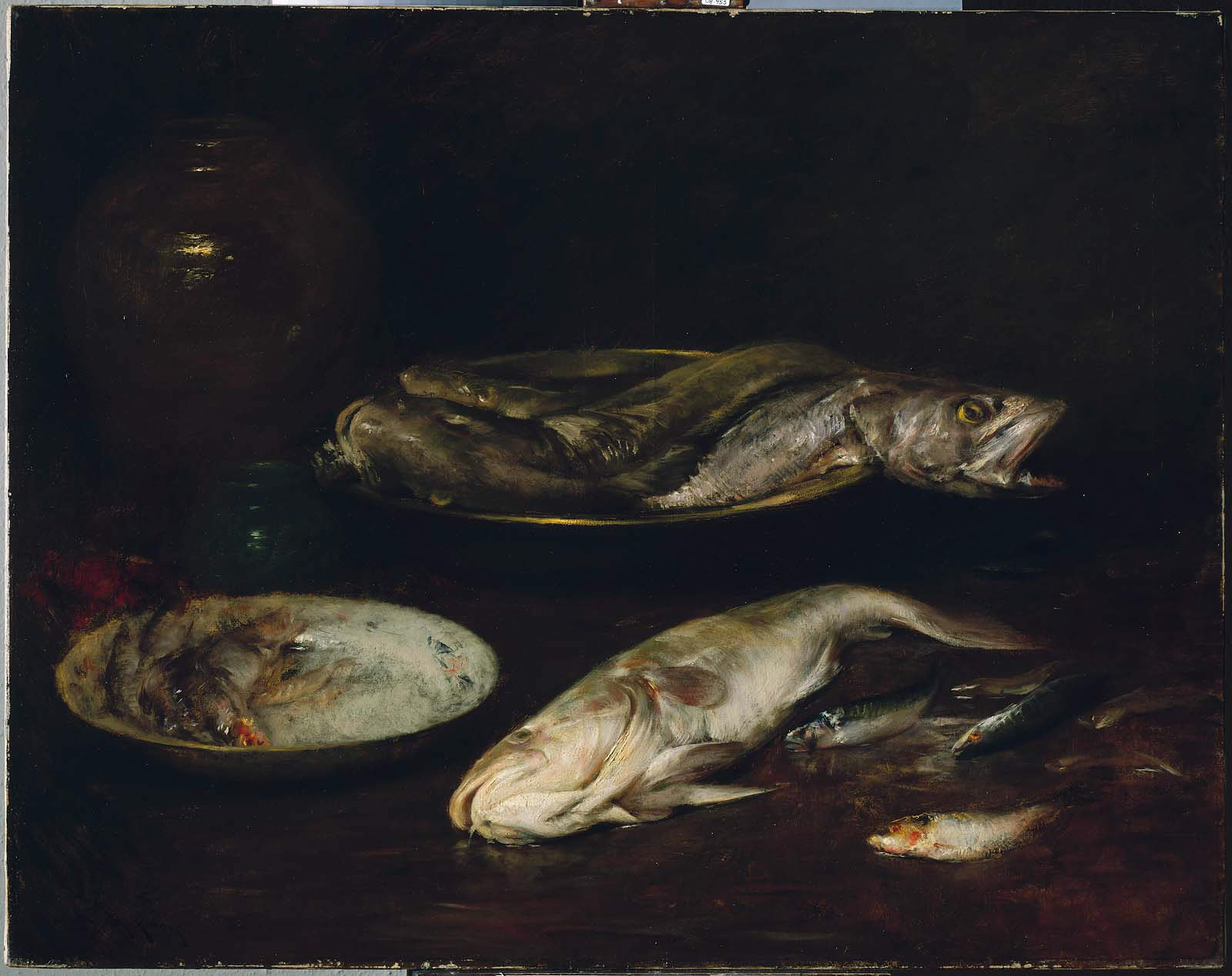 Chase, Still Life- Fish ca.1900