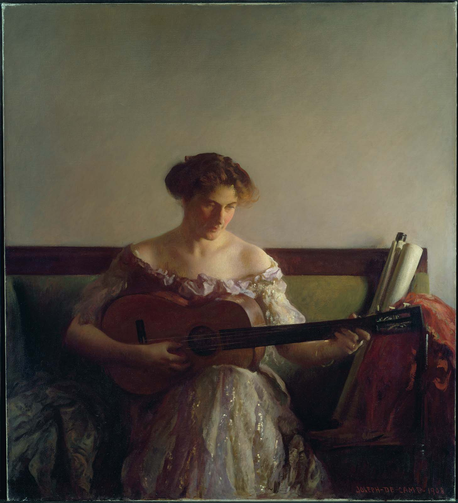 DeCamp, The Guitar Player, 1908