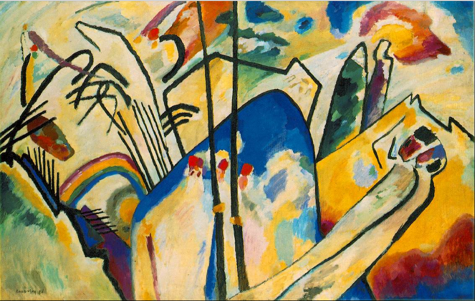 Wassily Kandinsky, Composition IV,1911