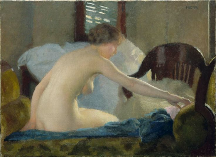 William MacGregor Paxton,  Nude , 1915