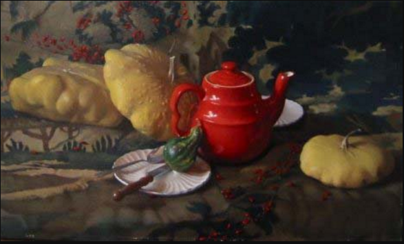 Paul Ingbretson,  Red Teapot