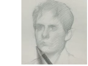 Pencil Drawing in the Visual Order Timelapse