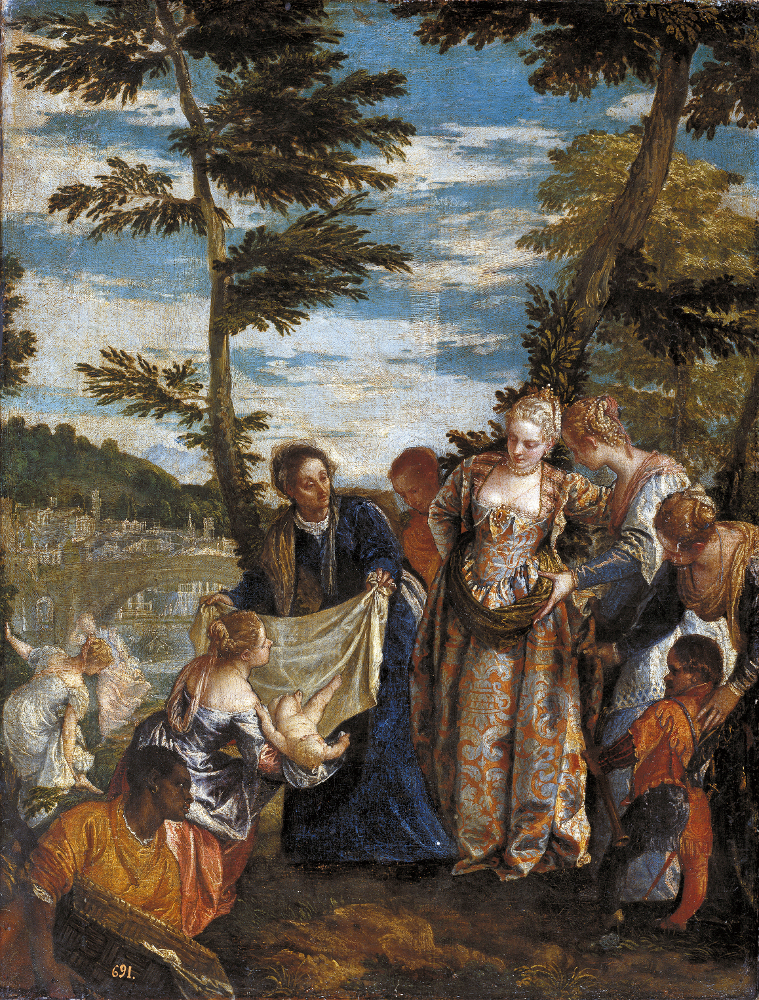 The Finding of Moses by The Pharoh's Daughter, Veronese, 1570-1575