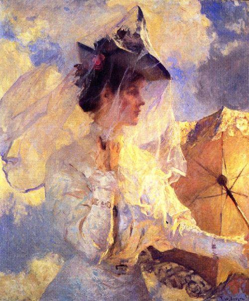 Against the Sky, 1910, Frank Benson