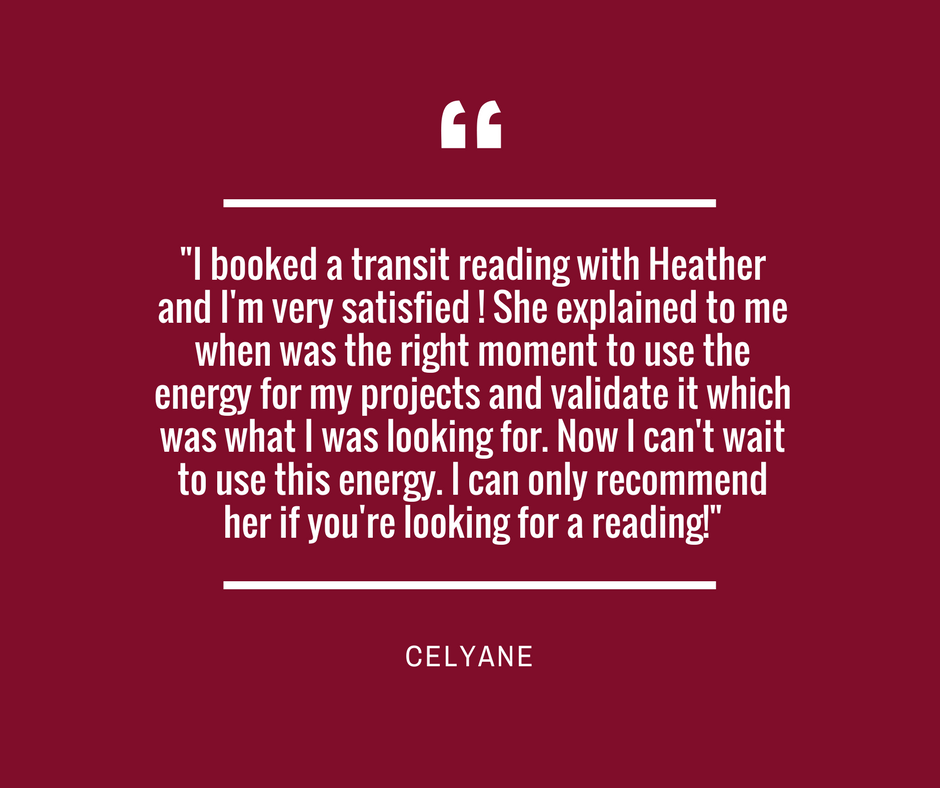 Follow this link to book your reading with Heather today! :)