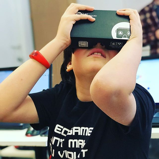Our video game class students will be working on a space inspired VR game 🌔 #STEAM  is fun! Check out our tech camp offerings ! . . . . #kids #summercamps #STEM #toronto #minecraft #STEAM #technology
