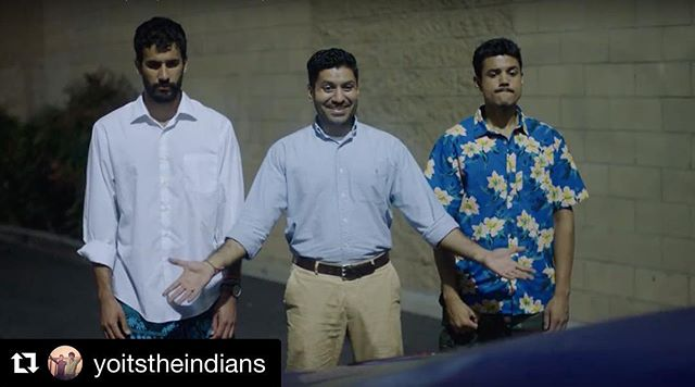 "#Repost ・・・ What happens when 4 ""friends"" try to open a restaurant? Find out because....It's here!!! HOLI COW THE WEB SERIES is live!! Check out our first season on @youtube. Link in BIO 😏, starting with our pilot episode and get all the answers to your 🔥 questions. We worked so hard on this and are so happy to share this with you all, so check out our show, spread the word to everyone you know and watch as these #indiansgo2tv ❤️❤️❤️ @holicowtheseries  #holicowtheseries  #dumbiryani  #gobiboyz  #happydiwali"