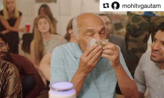 "#Repost ・・・ Wanna see this old Indian guy sniff a bag of ""pure sweet earth?"" Then check out our series @holicowtheseries on @YouTube, available now!!~~~~~~~~~~~~🔥 LINK IN BIO 🔥~~~~~~~~~~~~"