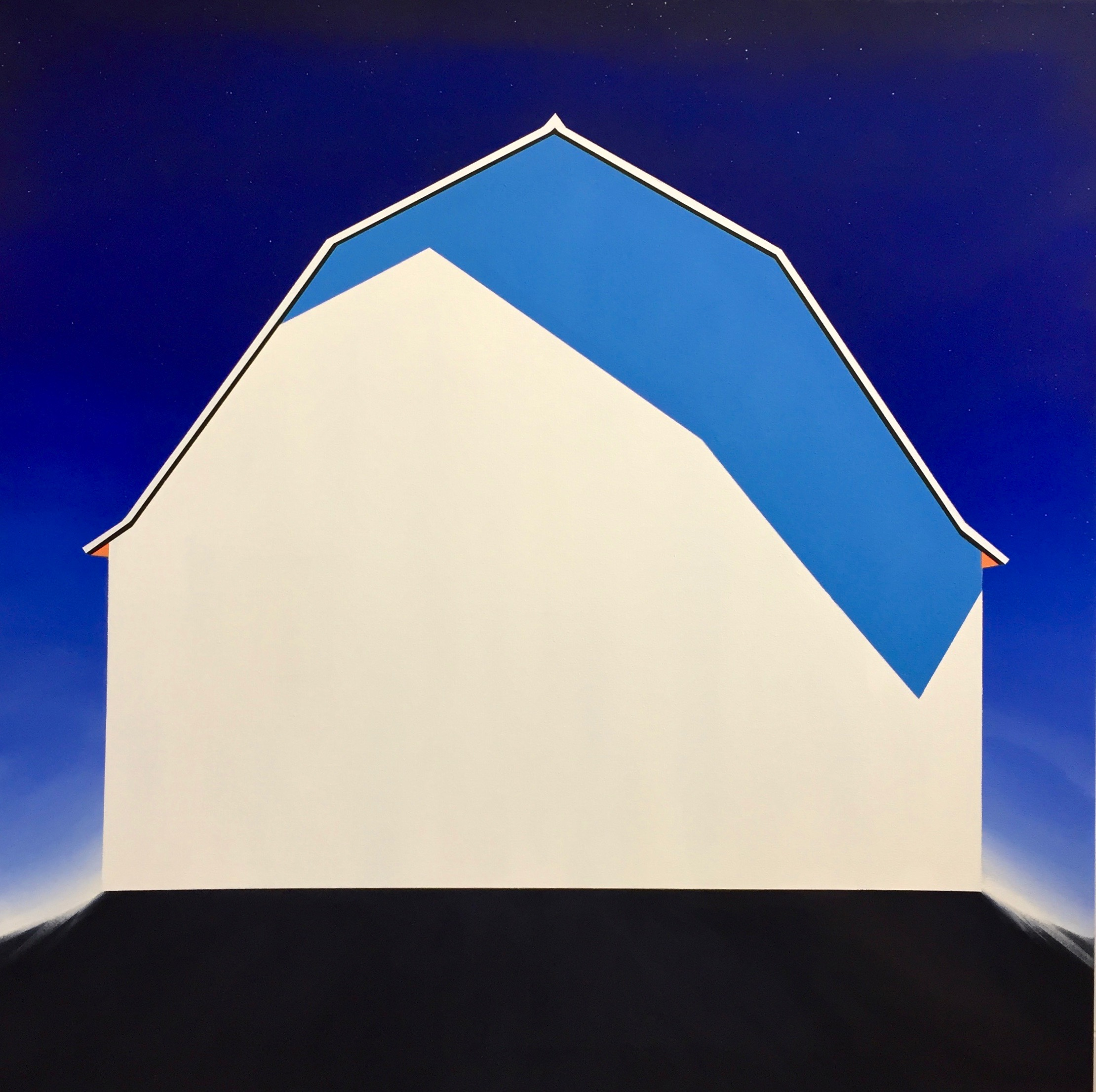 """Angle of Shadow"", 48x48, Oil on Canvas, 2019"