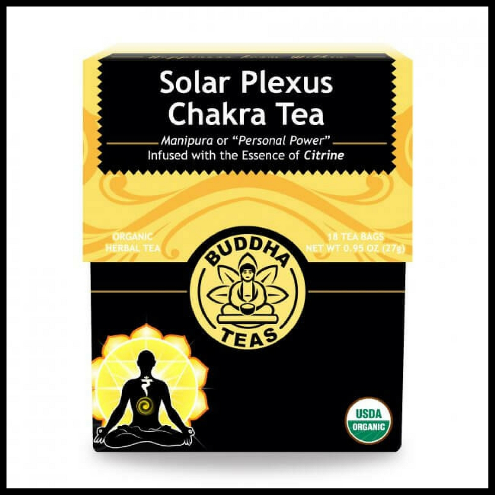 Organic Solar Plexus Chakra Tea