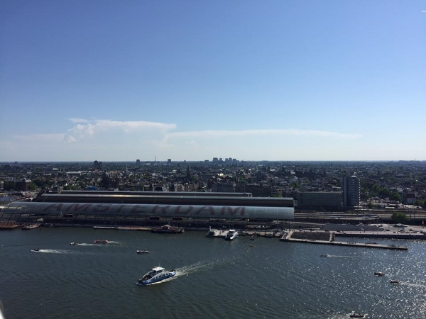 Spectacular views of the whole city can be found at the newly-opened A'DAM Lookout