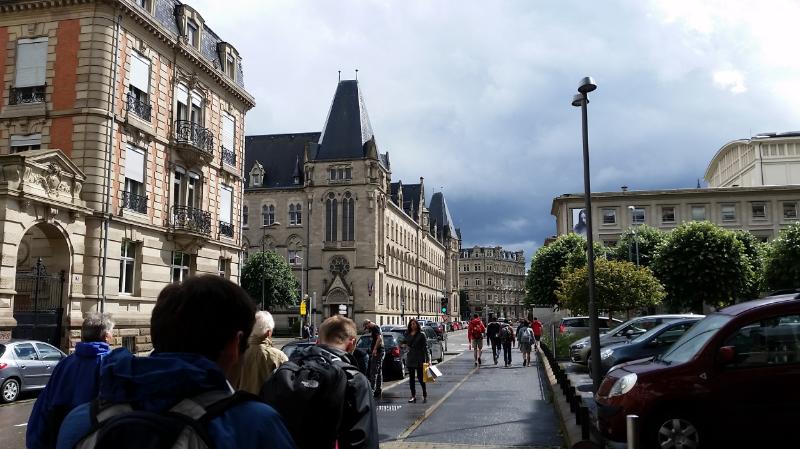 Exploring a bit of the city