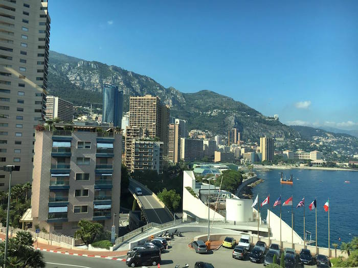 A view over the main port of Monaco