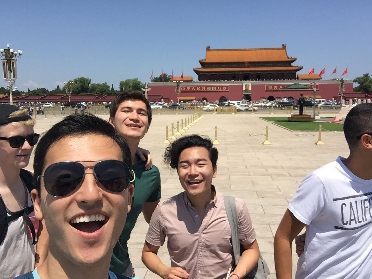 Last but not least, an obligatory Tiananmen Square selfie