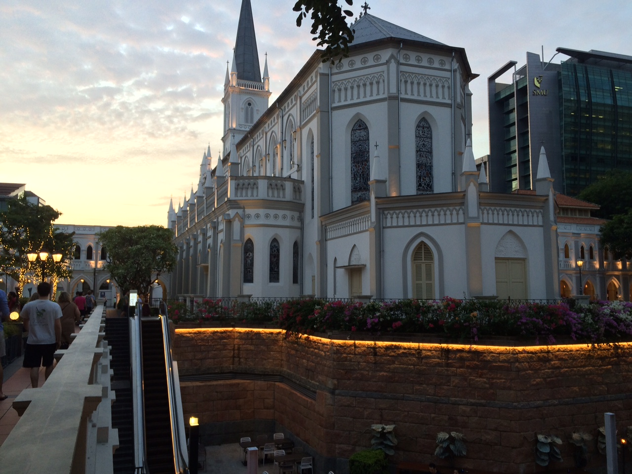 A picture of our beautiful venue at Chijmes