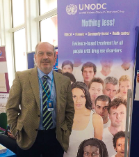 Dr. Koutsenok at United Nations Headquarters