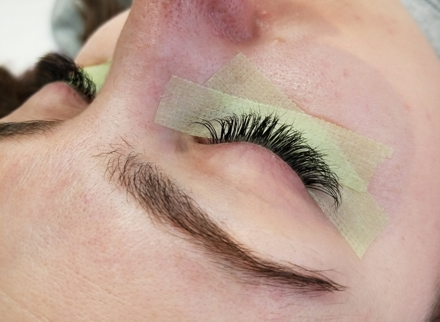 After Eyelash Extensions - Full Classic Set PROMO $100 with unlimited lashesRegularly $150