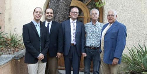 Michaël De Luca, Rodrigo De Sousa, Gert Kwakkel, Ronald Bergey,Pierre Berthoud