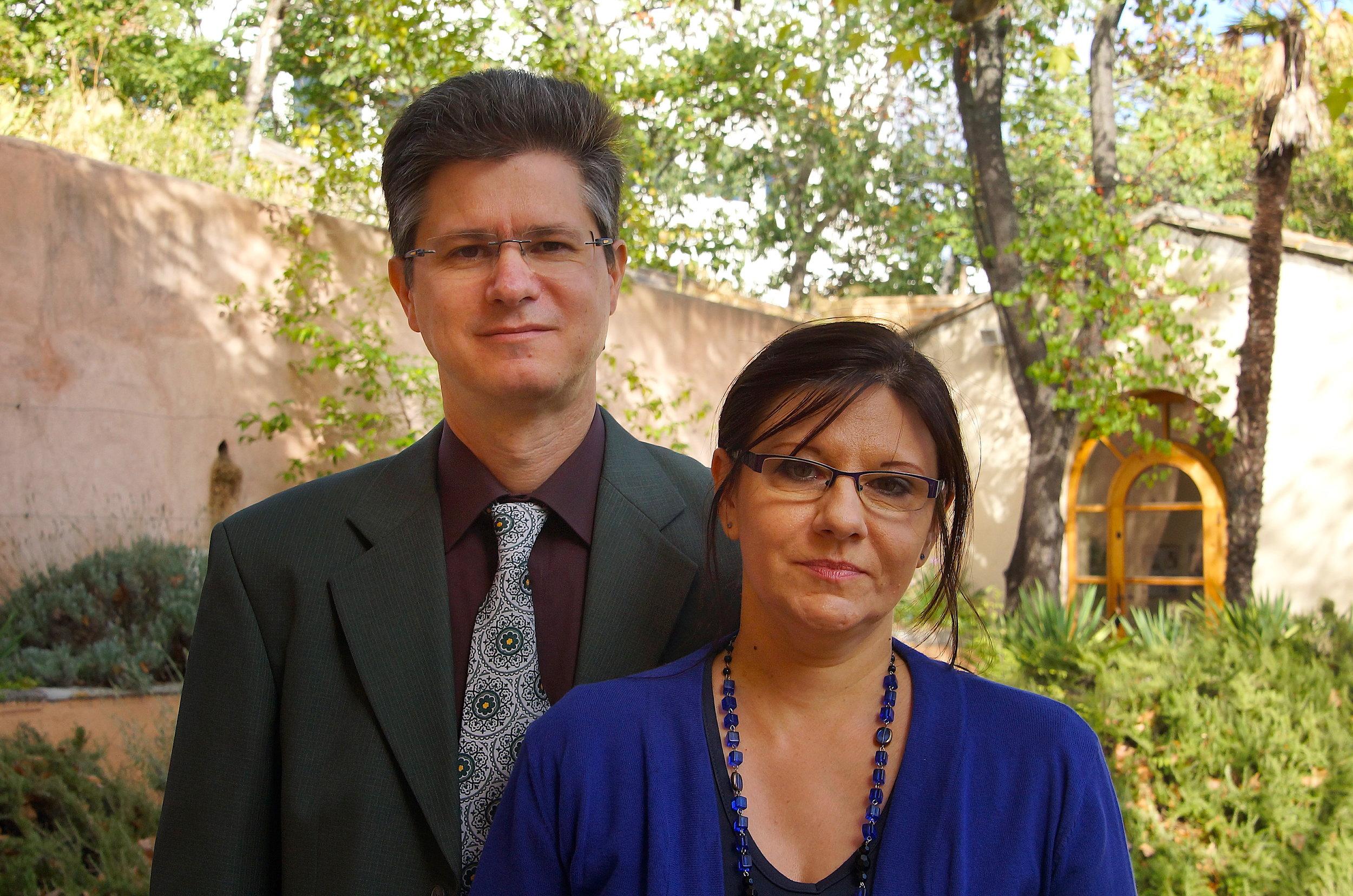 Jean-Philippe and Dana Bru