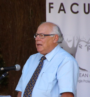 Pierre Berthoud President of Faculté Jean Calvin and Professor Emeritus