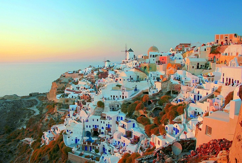 Santorini, Greece - FOOD + TRAVEL
