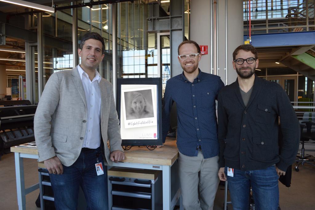 Tom Baran, Matt Hirsch and Daniel Leithinger