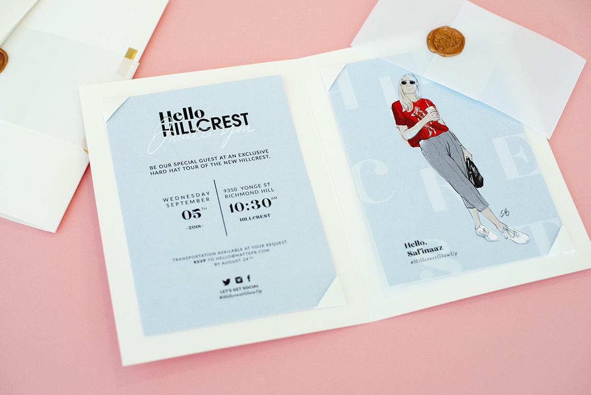 Hillcrest Mall Invitation
