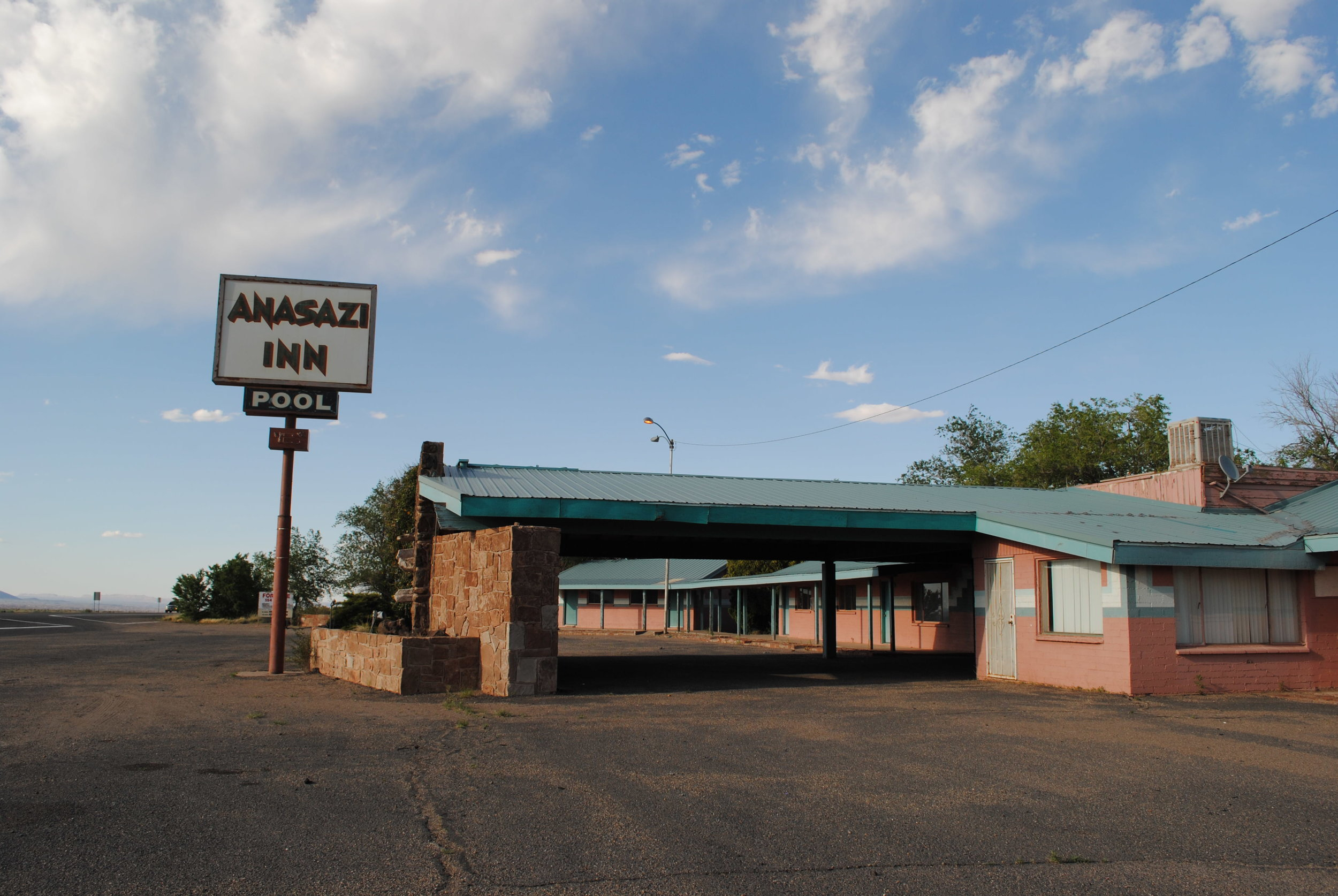 Anasazi Inn, HWY 89, NM