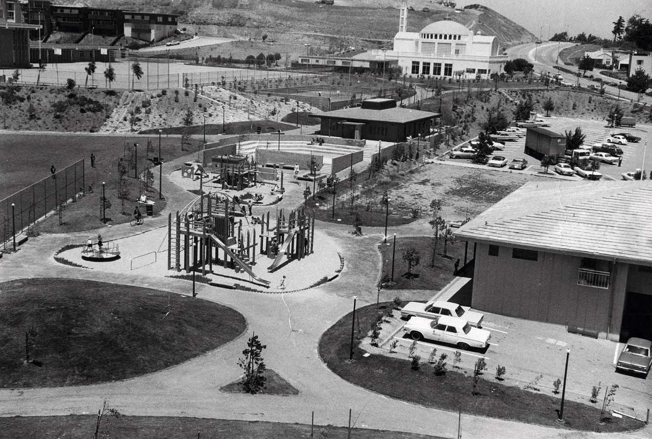 Christopher Park Playground designed by Robert Royston and Lawrence Lackey.