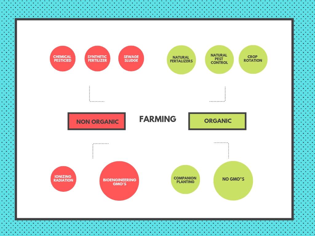 Non-Organic Farming Vs. Organic Farming