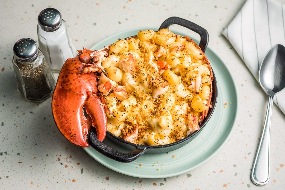 Truffled Lobster Mac & Cheese Fullerton Menu - OverEasy