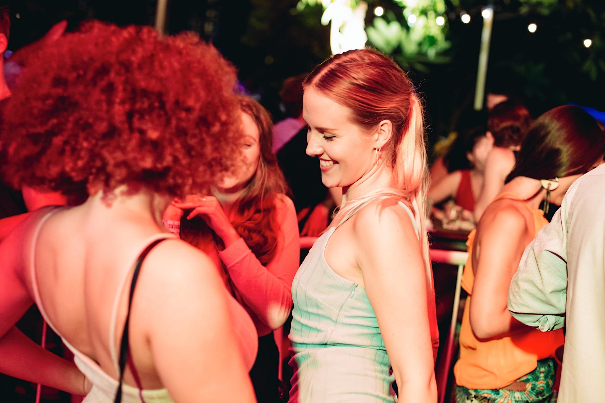 Gulity Pleasures Party Girls Dancing - OverEasy
