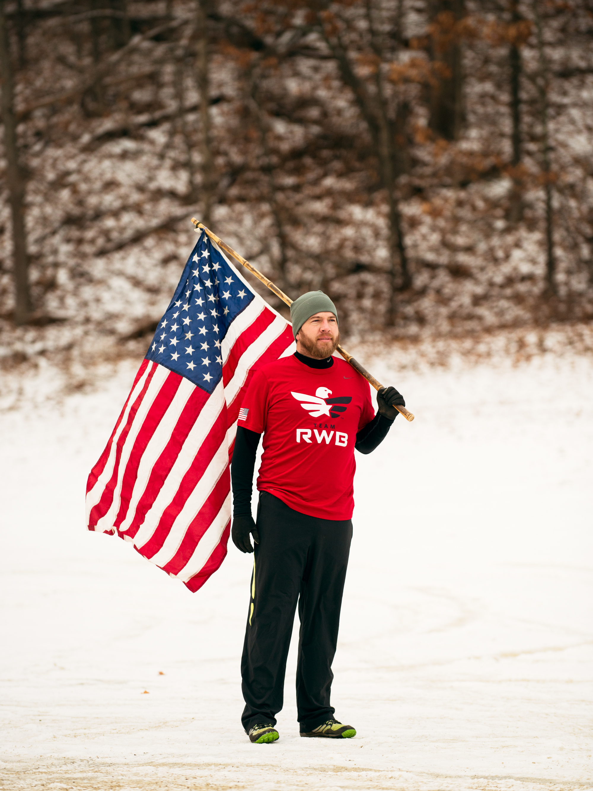 James Buzzell, U.S. army veteran who uses running to counter the symptoms of PTSD  Runner's World