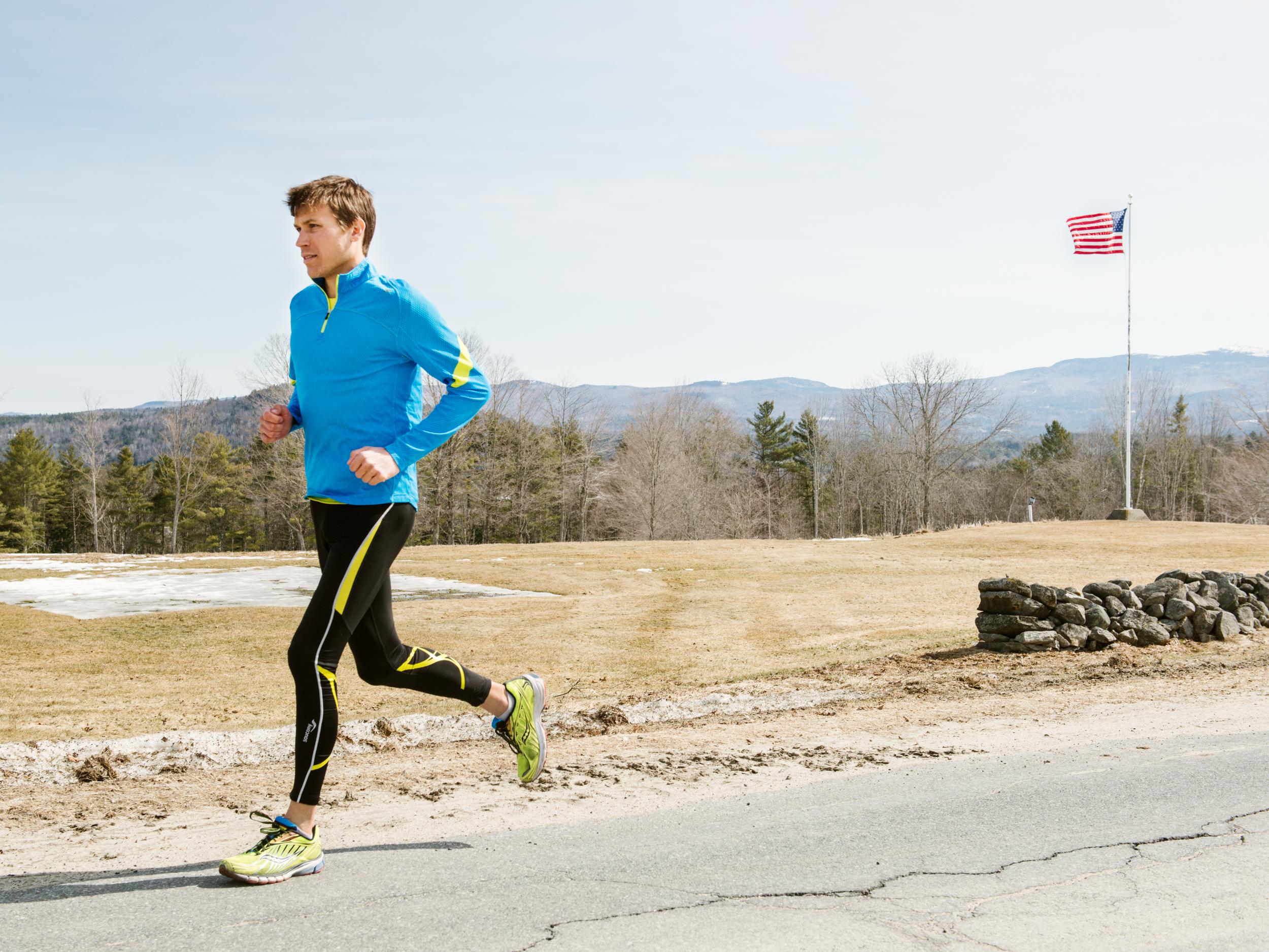 Ben True, U.S. distance runner & lyme disease activist  Runner's World