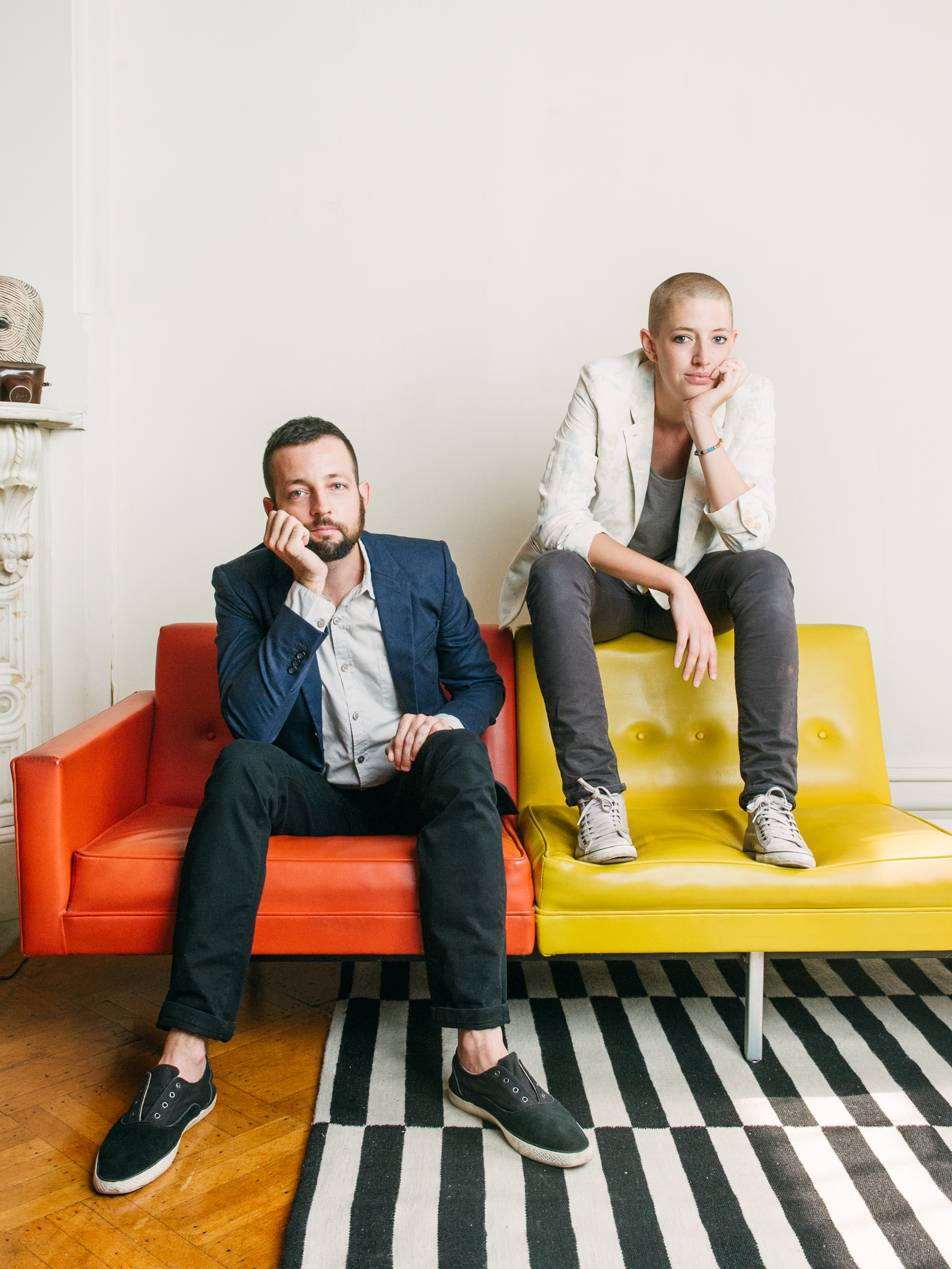 Max Freeman & Margaret Singer, creators of  The 3 Bits