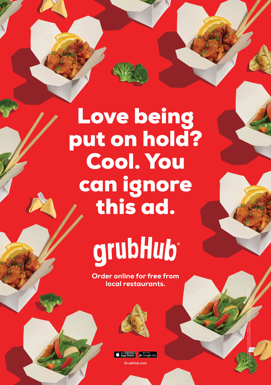 GrubHub Campaign II, 2015   Agency: Barton F Graf  Food Styling: Karen Evans  Retouching: Suk Choi