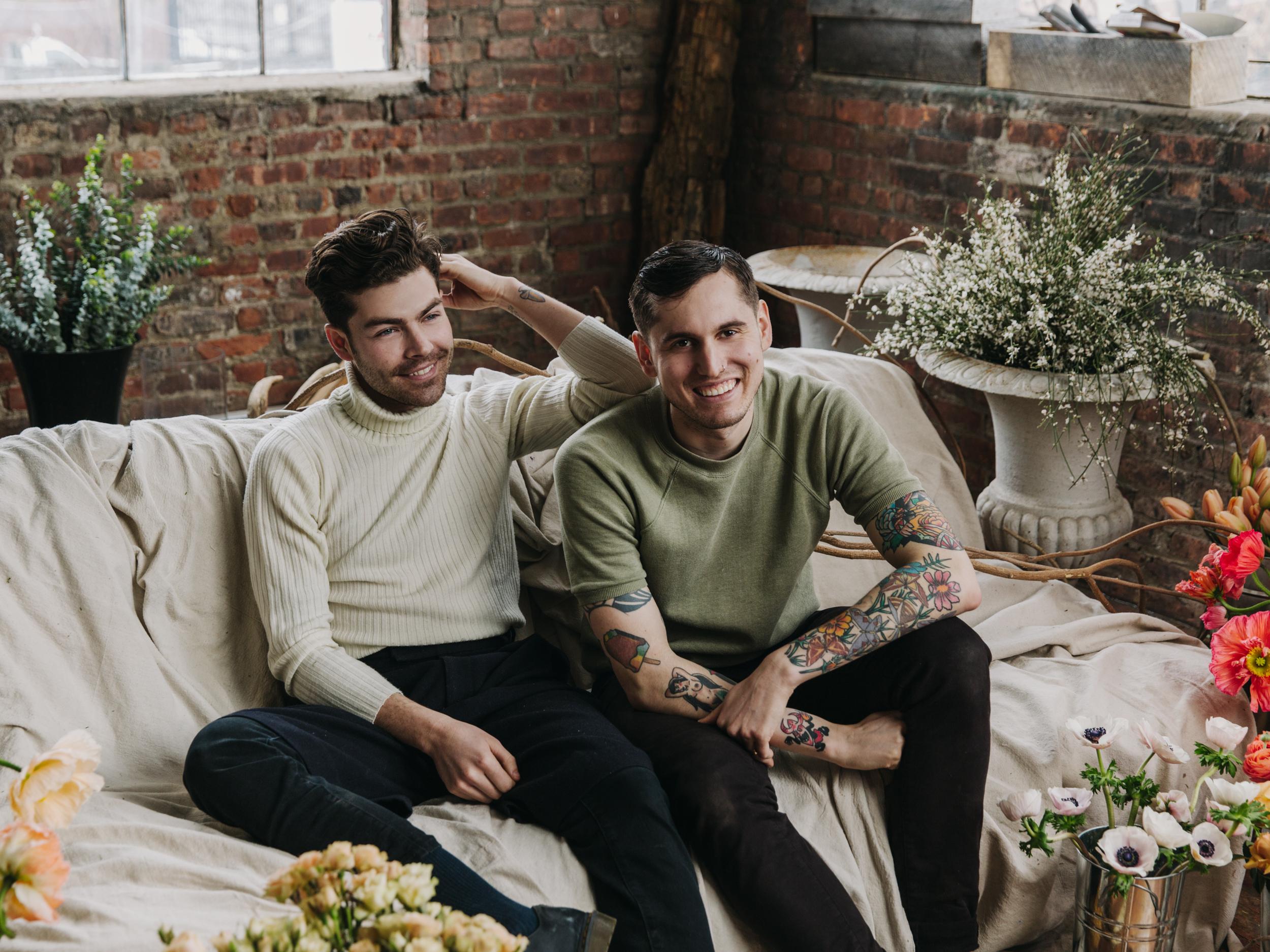 Michael & Darroch Putnam, Founders of Putnam Flowers