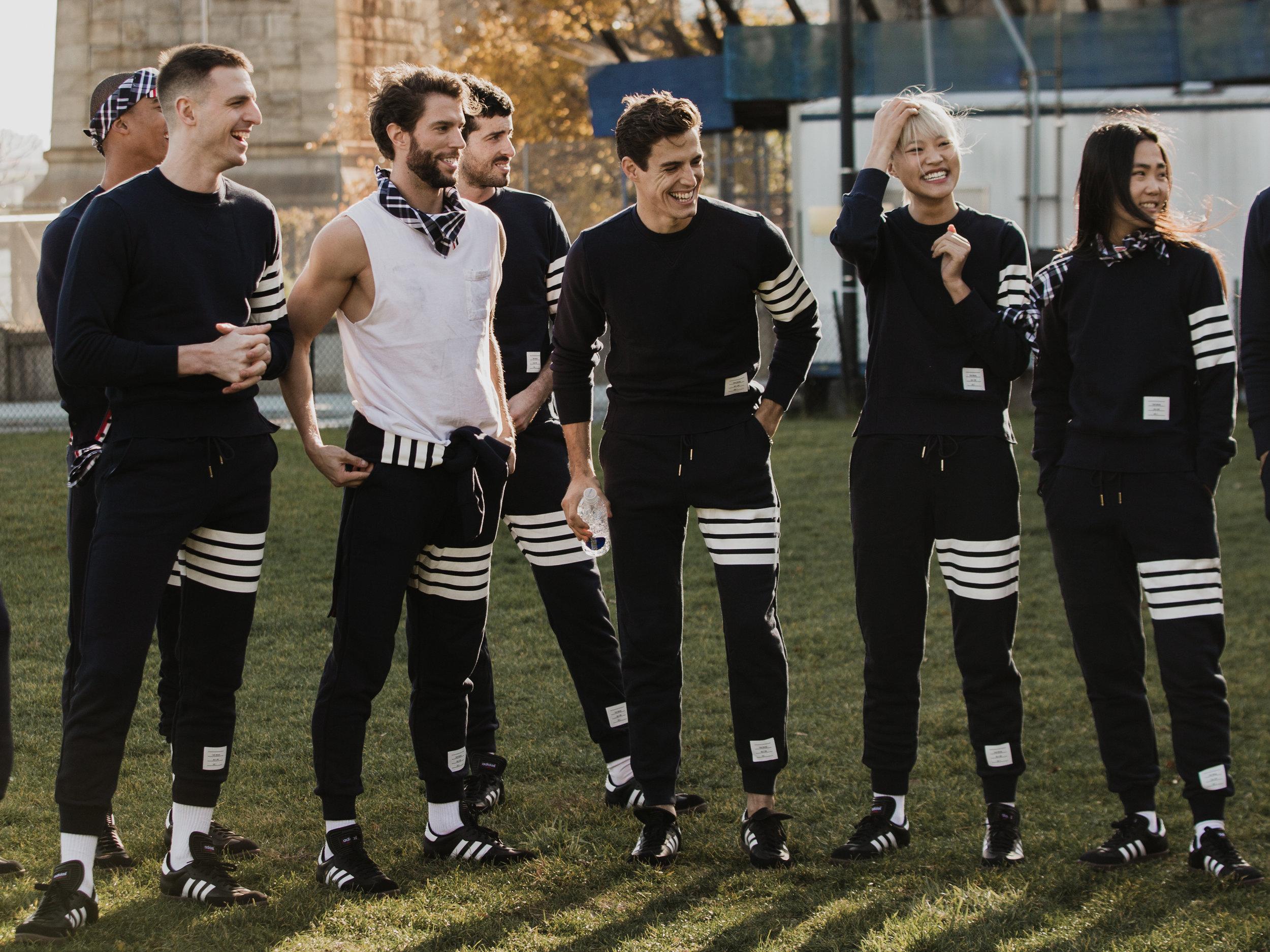 Thom Browne Football Game, 2016  Thom Browne / Vogue