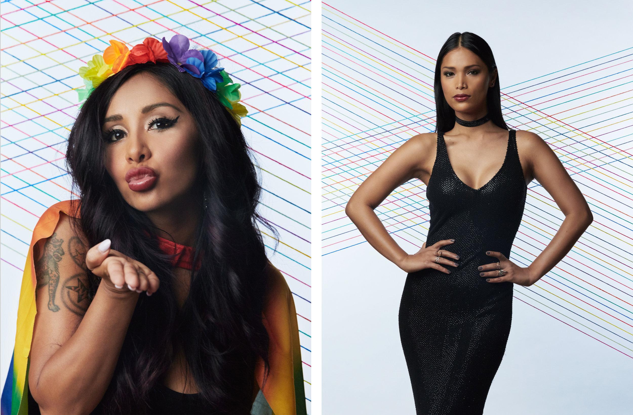 Nicole Polizzi / Geena Rocero  Trailblazer Honors, 2016  Logo TV