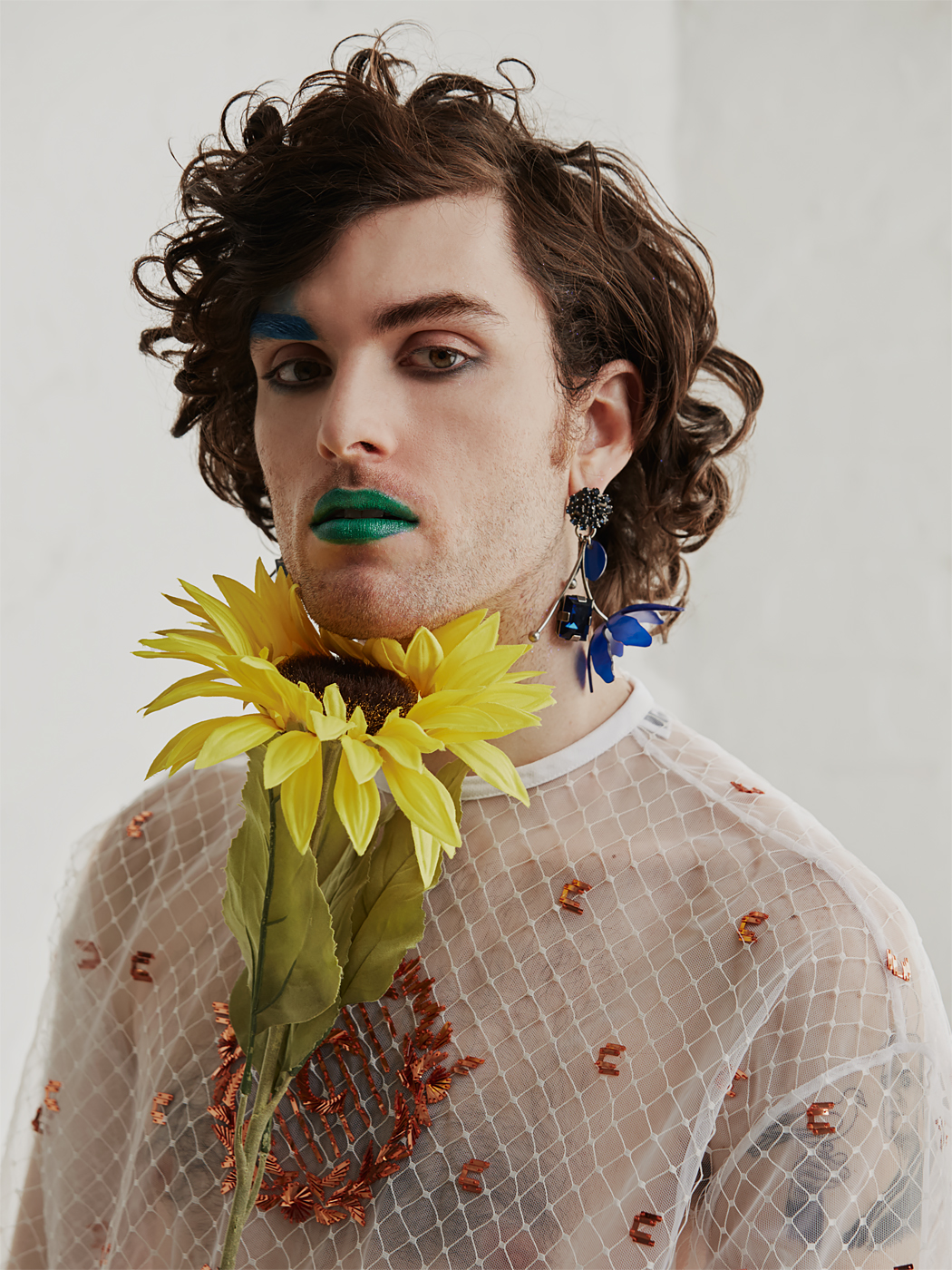 Ben Hopkins of PWR BTTM  OUT Magazine