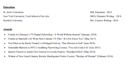 Dan Marmor's Education and Awards