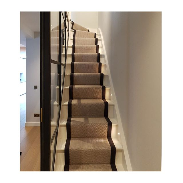 Happy Friday everyone, we hope you've got a fun weekend lined up. We've had another busy week and we're looking forward to the countdown to Clare's birthday next week (which obviously requires a week long celebration!)⠀⠀⠀⠀⠀⠀⠀⠀⠀ ⠀⠀⠀⠀⠀⠀⠀⠀⠀ These are the beautifully finished stairs at a recently completed project, where the runner compliments the glazing perfectly, and the little pin lights guide you down without being intrusive. Looks wonderful! ⠀⠀⠀⠀⠀⠀⠀⠀⠀ ⠀⠀⠀⠀⠀⠀⠀⠀⠀ #friyay #friday #stairs #crittall #happy #London #life #architecture #architectsofinstagram #design #art #cabinetry #bespoke #home #luxury #library #interiors #interiordesign #luxe #listedbuilding #house #after